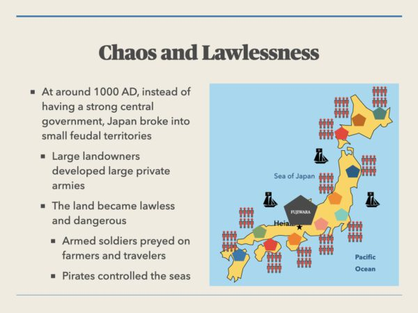 Chaos and Lawlessness In Japan