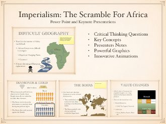 Roots of Imperialism Scramble For Africa