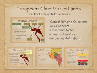Europeans Claim Muslim Lands Presentation