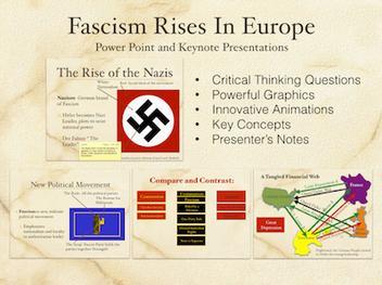Fascism Rises In Europe Presentation