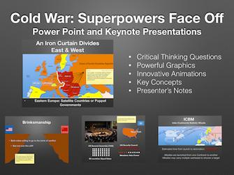 Cold War Superpowers Face Off Presentation