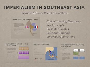 European Claims In Southeast Asia Presentation