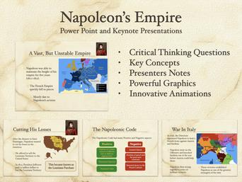 Napoleons Empire Presentation