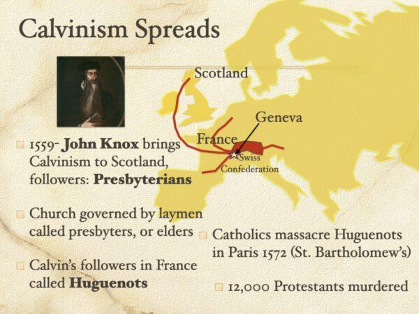 Calvinism Spreads