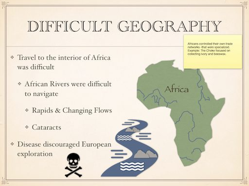 Difficult Geography