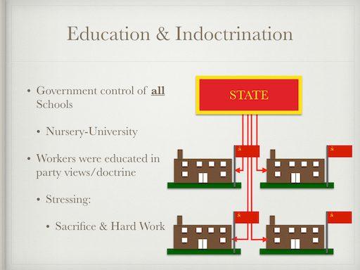 Education & Indoctrination