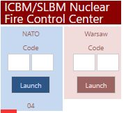 Nuclear Launch Controls Cold War Map Activity