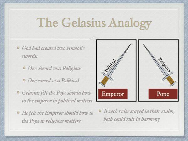Gelasius Analogy
