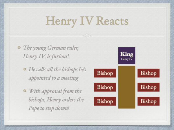 Henry IV Reacts