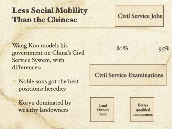 Less Social Mobility Than The Chinese