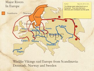 Major Rivers In Europe