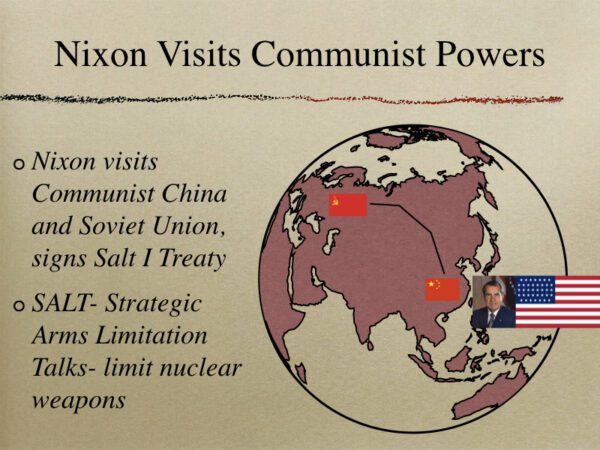 Nixon Visits Communist Powers