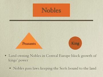 Nobles,Peasants, Kings