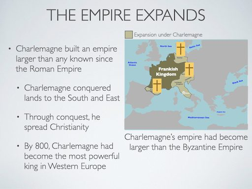 Charlemagne's Empire Expands
