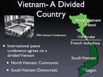 Vietnam A Divided Country