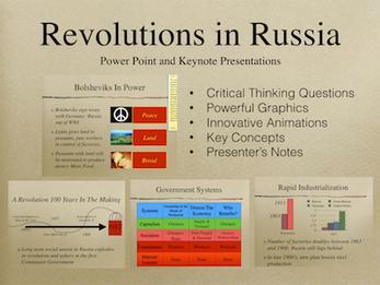 Revolutions In Russia Presentation