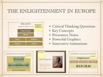 The Enlightenment Thinkers Presentation