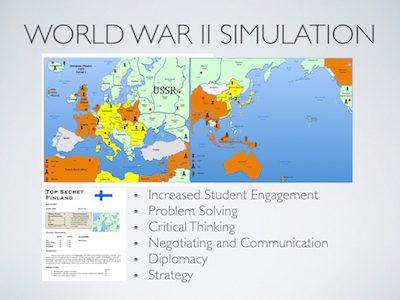 World War 2 Simulation