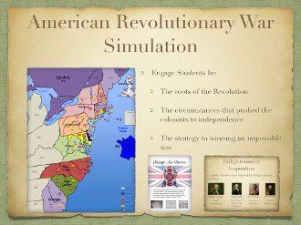 American Revolution Simulation