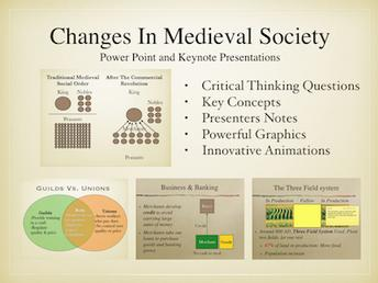 Enrichments In Medieval Society Presentation