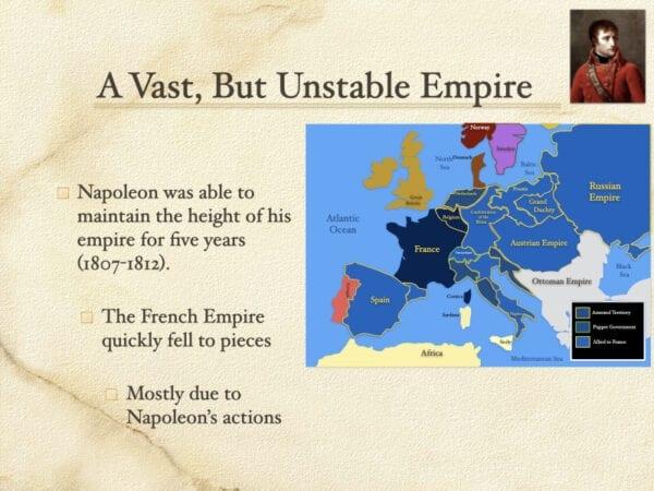 A Vast But Unstable Empire