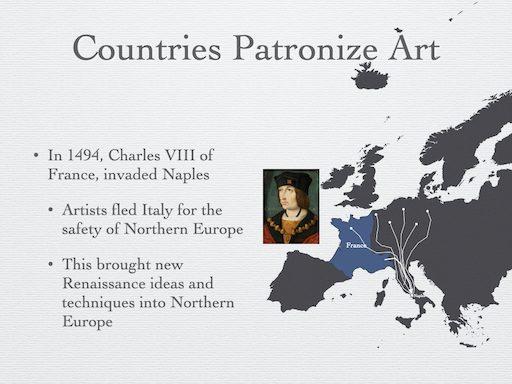 Countries patronize Art