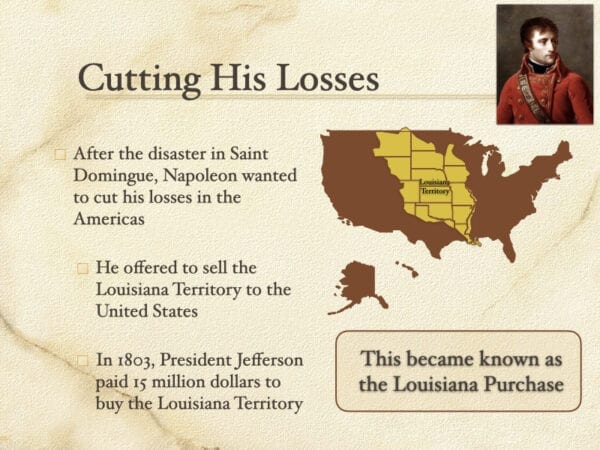 Cutting His Losses