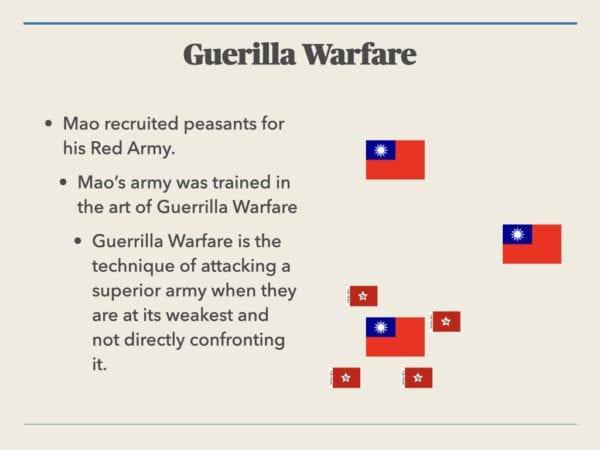 Guerilla Warfare In China
