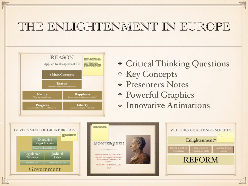 Enlightenment In Europe