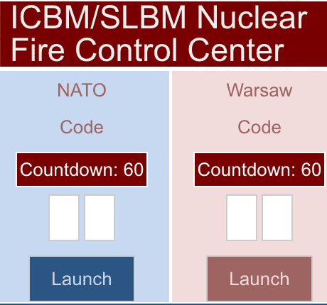 Nuclear Weapons Fire Control Center