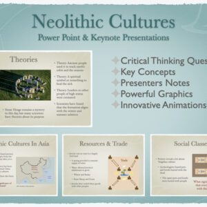 Neolithic Cultures History Presentation