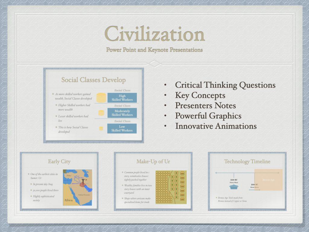 2.1 Civilization History Presentation