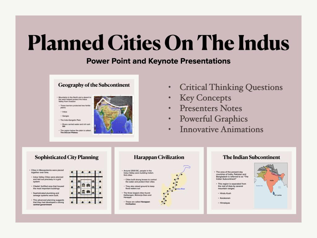 Planned Cities On The Indus History Presentation