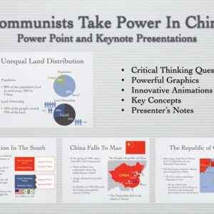 Communists Take Power In China History Presentation