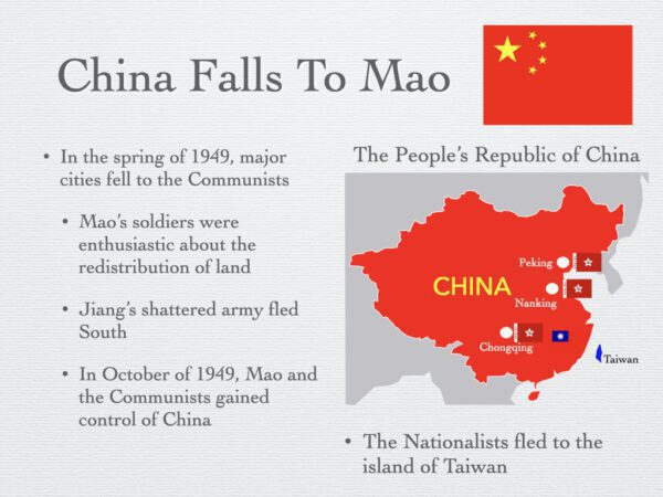 China Falls To Mao