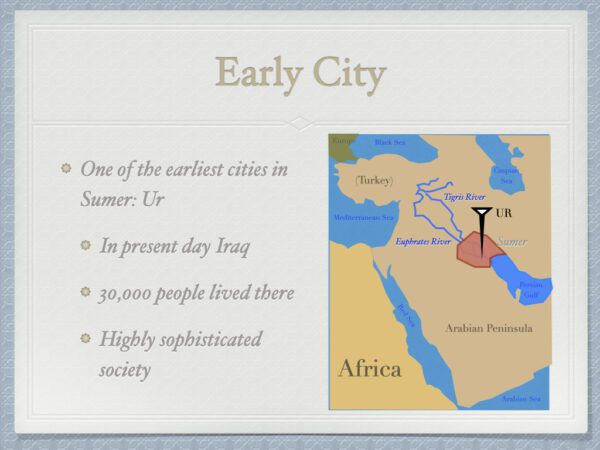 Early City of Ur
