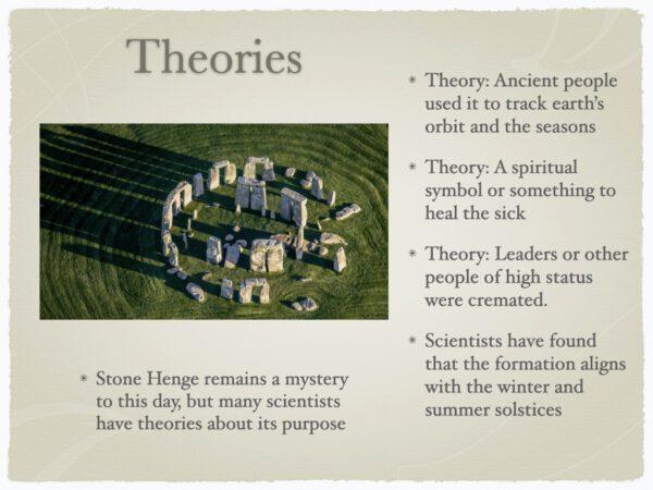 Stone Henge Theories