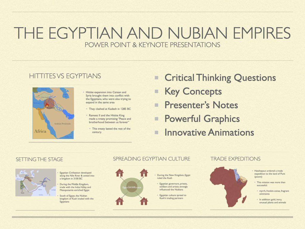 Egyptian and Nubian Empires History Presentation