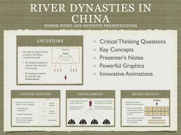 River Dynasties In China History Presentation