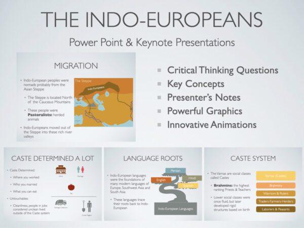 The Indo-Europeans History Presentation