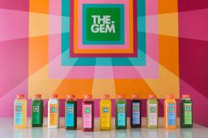 The GEM organic juice