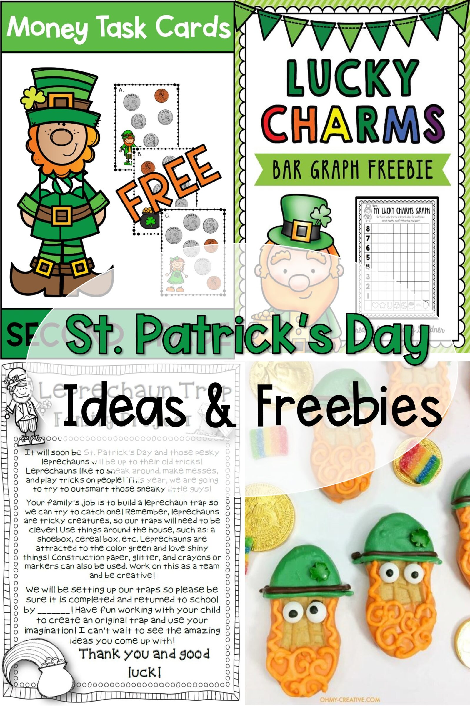 St. Patrick's Day Ideas and Freebies