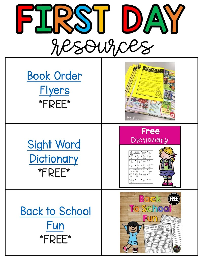 Free student word wall