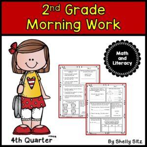 2nd Grade Morning Work 4th Quarter