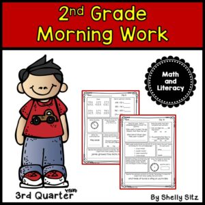 2nd Grade Morning Work 3rd Quarter