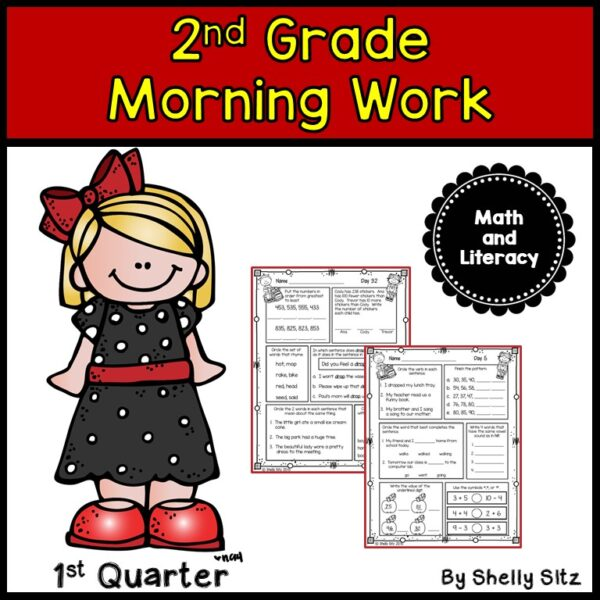 spiral review worksheets for second grade
