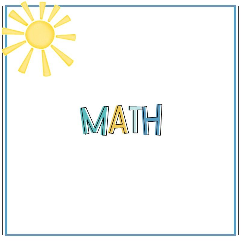 Math Blog Category