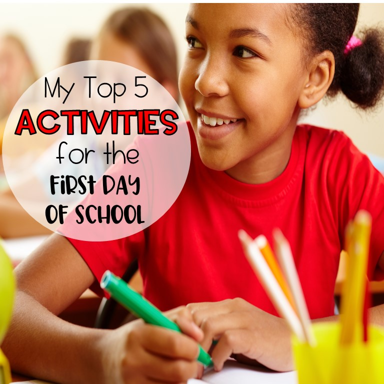 first day of school activities and ideas