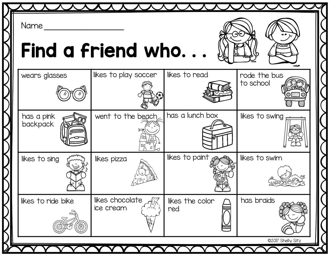 Find a Friend Icebreaker