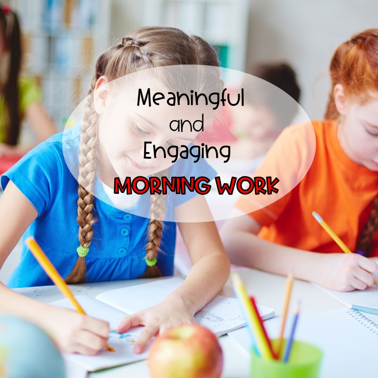 spiral review morning work for second grade